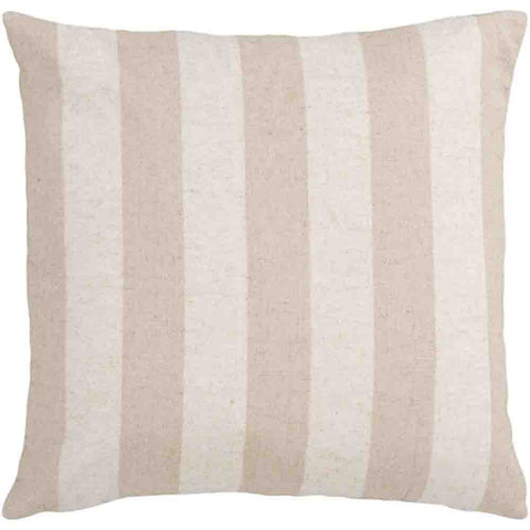 Image of Simple Stripe Pillow ~ Taupe & Khaki - Cece & Me - Home and Gifts