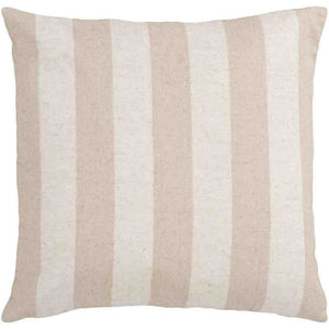 Simple Stripe Pillow ~ Taupe & Khaki - Cece & Me - Home and Gifts