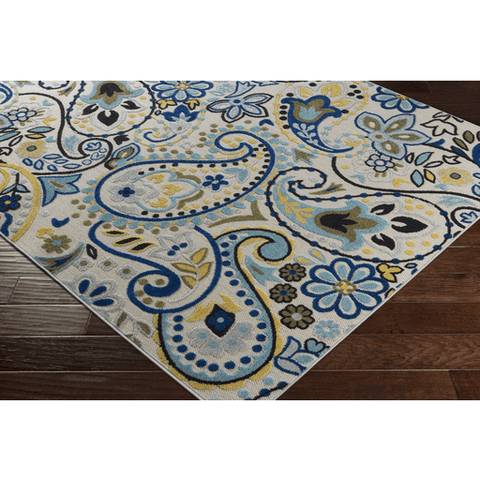 Jolene Rug ~ Aqua - Cece & Me - Home and Gifts