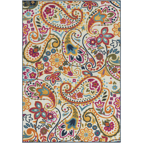 Jolene Rug ~ Saffron - Cece & Me - Home and Gifts