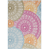 Jollye Rug ~ Bright Pink/Bright Yellow/Aqua - Cece & Me - Home and Gifts