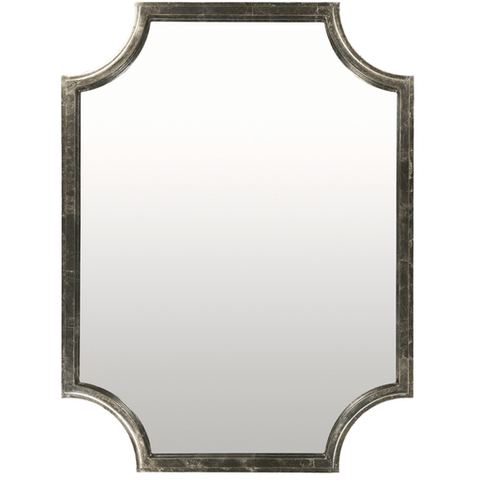 Joslyn Mirror ~ Silver - Cece & Me - Home and Gifts
