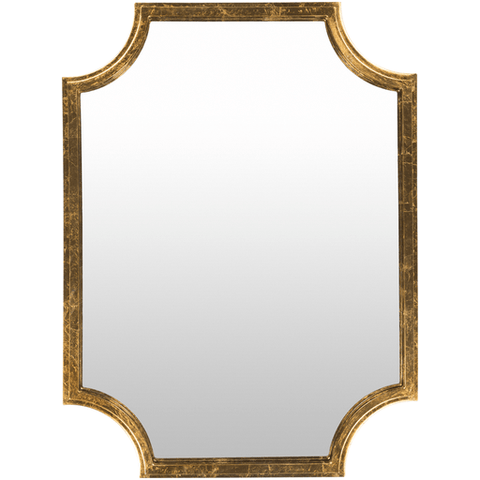 Image of Joslyn Mirror ~ Gold - Cece & Me - Home and Gifts