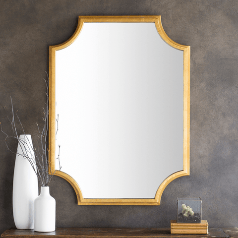 Joslyn Mirror ~ Gold - Cece & Me - Home and Gifts