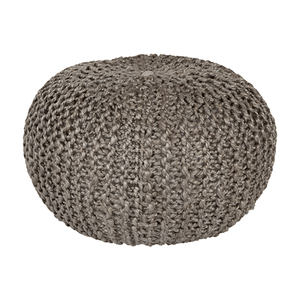 Bermuda Pouf ~ Medium Gray - Cece & Me - Home and Gifts