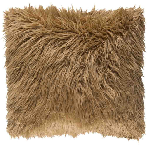 Image of Kharaa Fur Pillow ~ Camel - Cece & Me - Home and Gifts