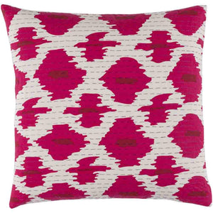 Kantha Pillow ~ Bright Pink - Cece & Me - Home and Gifts