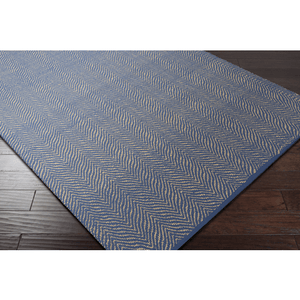 Karim Rug ~ Dark Blue & Wheat - Cece & Me - Home and Gifts