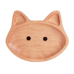 Kids Wooden Plate ~ Cat - Cece & Me - Home and Gifts