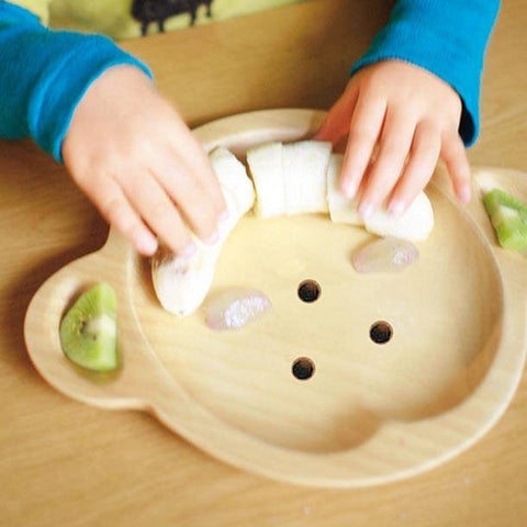 Image of Kids Wooden Plate ~ Duck - Cece & Me - Home and Gifts