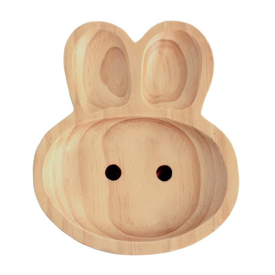 Kids Wooden Plate ~ Rabbit - Cece & Me - Home and Gifts