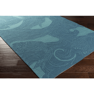 Koi Rug ~ Aqua & Beige - Cece & Me - Home and Gifts