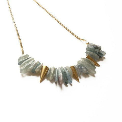 Image of Kyanite Spike Necklace - Cece & Me - Home and Gifts