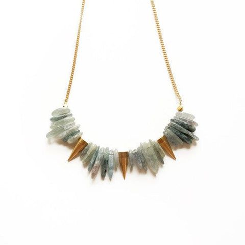 Kyanite Spike Necklace - Cece & Me - Home and Gifts