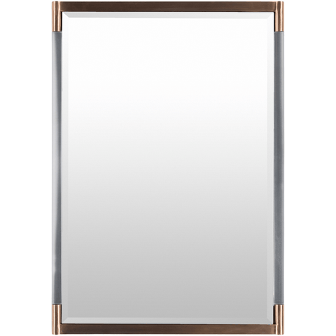 Kyle Mirror ~ Brass/Lucite - Cece & Me - Home and Gifts
