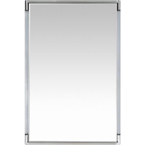 Kyle Mirror ~ Silver/Lucite - Cece & Me - Home and Gifts