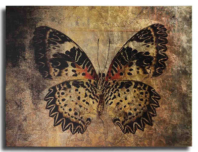 Butterfly Gold Leaf Gallery Wrap - Cece & Me - Home and Gifts