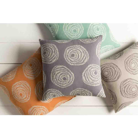 Image of Sylloge Pillow ~ Light Grey/Charcoal - Cece & Me - Home and Gifts
