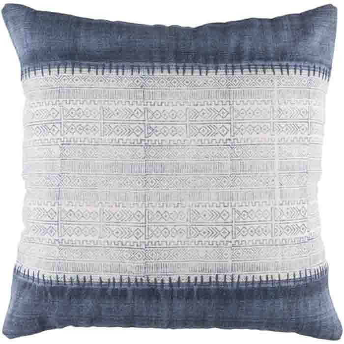 Nola Pillow ~ Navy - Cece & Me - Home and Gifts