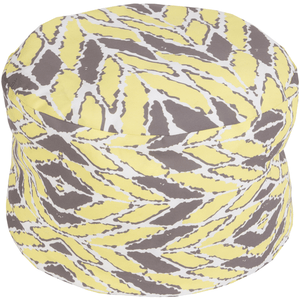 Langley Outdoor Pouf ~ Butter/Ivory - Cece & Me - Home and Gifts