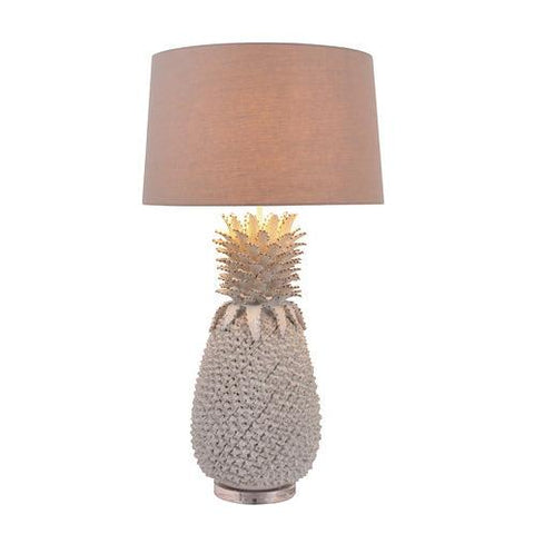 Image of Large Pineapple Ceramic Lamp