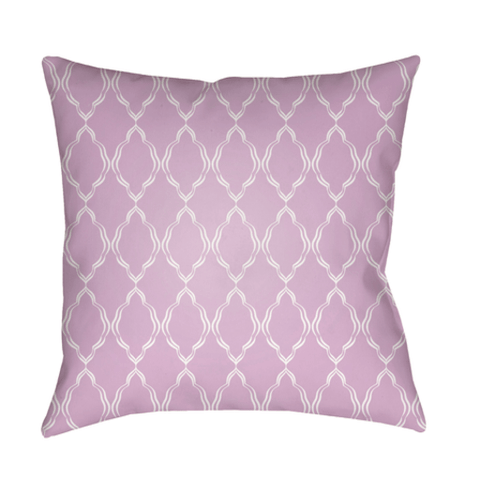 Lattice Pillow ~ Lilac - Cece & Me - Home and Gifts