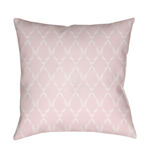 Lattice Pillow ~ Pale Pink