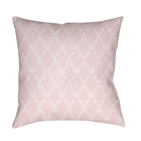 Lattice Pillow ~ Pale Pink - Cece & Me - Home and Gifts