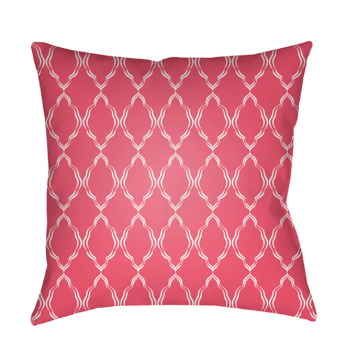 Lattice Pillow ~ Pink - Cece & Me - Home and Gifts