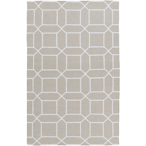 Leadley Rug ~ Ivory & White - Cece & Me - Home and Gifts