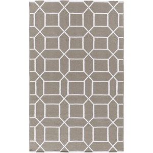 Leadley Rug ~ Light Gray & Cream - Cece & Me - Home and Gifts
