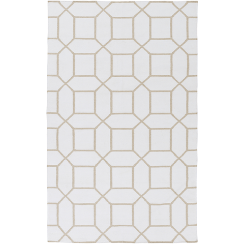 Leadley Rug ~ White & Ivory - Cece & Me - Home and Gifts