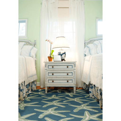 Lighthouse Rug ~ Denim - Cece & Me - Home and Gifts