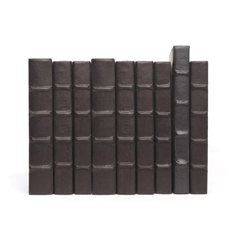 Image of Linear Foot of Solid Black Books - Make Your Own Titles - Cece & Me - Home and Gifts