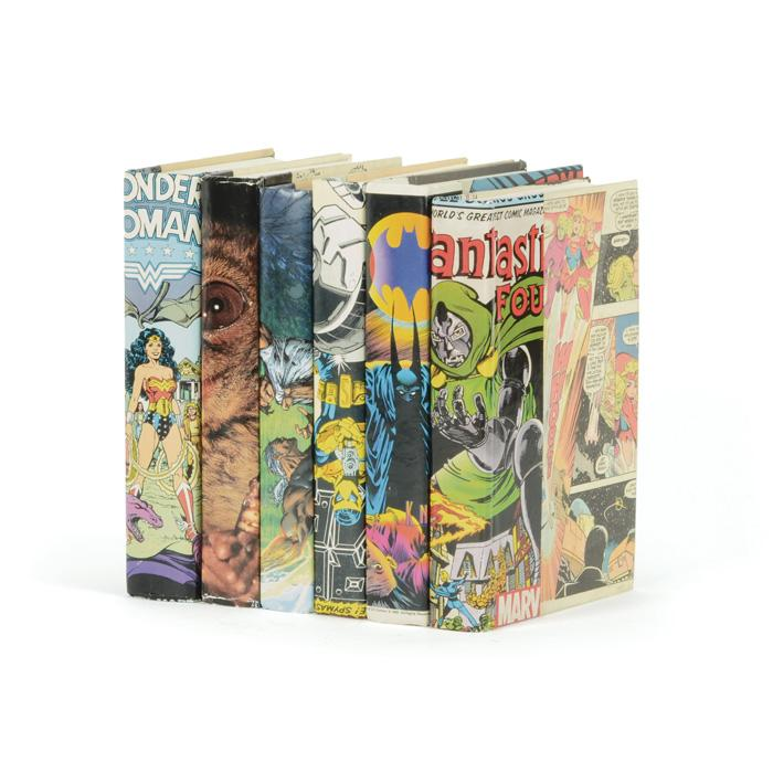Linear Foot of Vintage Comic Book Design Books