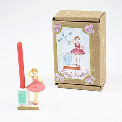 Image of Fun Circus Porcelain Candle Holder - Lovely Assistant - Cece & Me - Home and Gifts