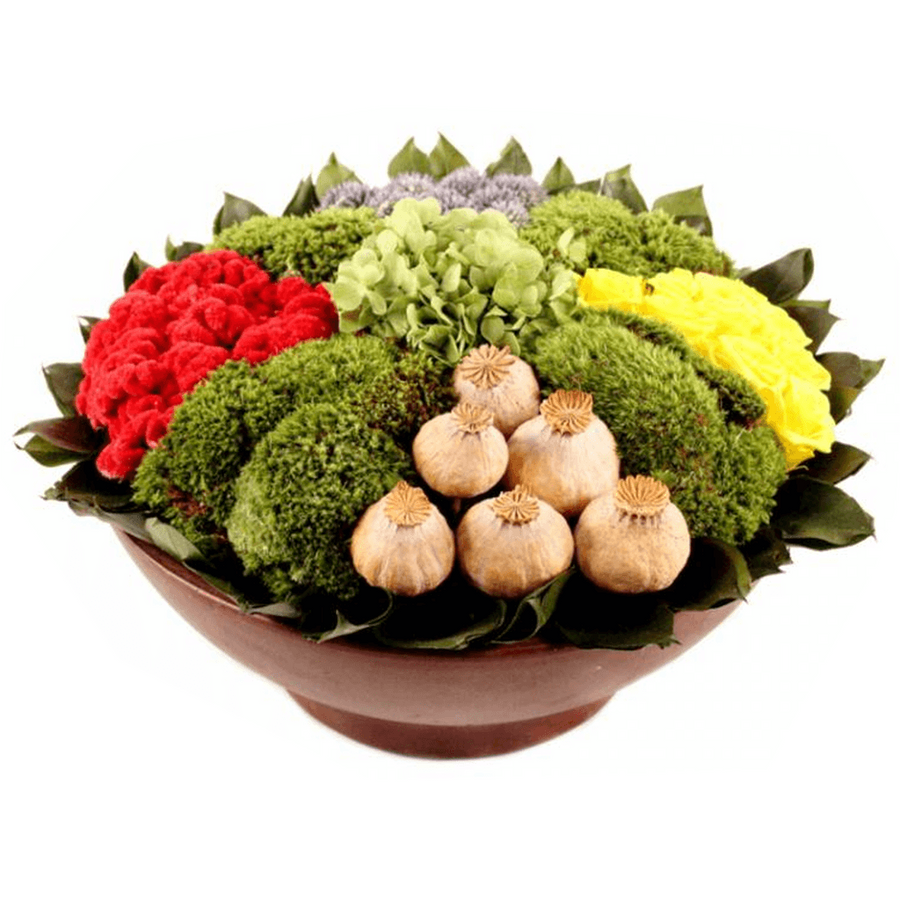 Low Bowl Arrangement - Cece & Me - Home and Gifts