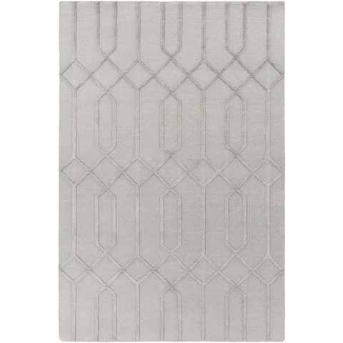 Image of Lydia Wool Rug ~ Medium Gray - Cece & Me - Home and Gifts