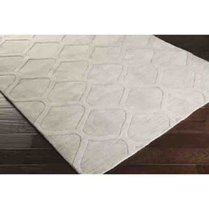 Mystique Wool Rug ~ Medium Gray