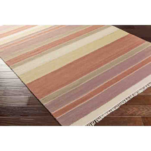 Miguel Wool Rug ~ Burt Orange/Mauve