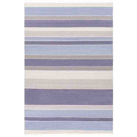 Image of Miguel Wool Rug ~ Denim/Gray - Cece & Me - Home and Gifts