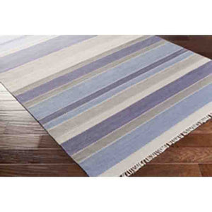 Miguel Wool Rug ~ Denim/Gray