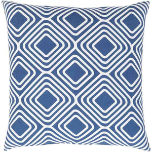 Miranda Pillow ~ Dark Blue & White - Cece & Me - Home and Gifts