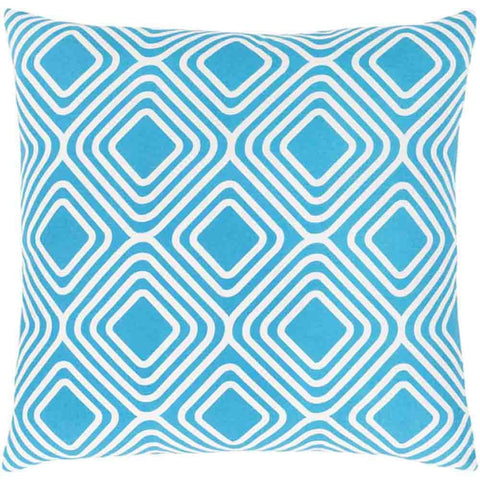 Image of Miranda Pillow ~ Bright Blue - Cece & Me - Home and Gifts