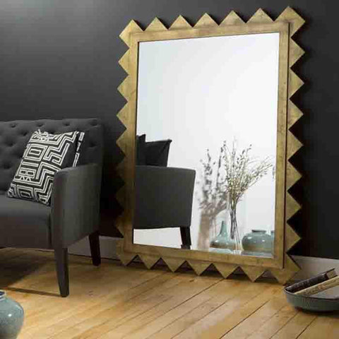 Image of Chessa Gold Decorative Mirror - Cece & Me - Home and Gifts