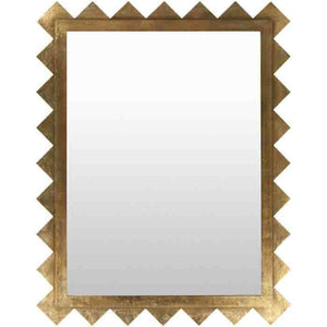 Chessa Gold Decorative Mirror - Cece & Me - Home and Gifts