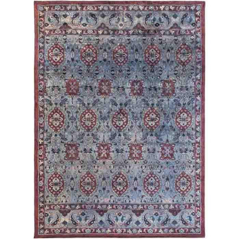 Mykonos Wool Rug ~ Dark Blue - Cece & Me - Home and Gifts