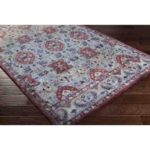 Image of Mykonos Wool Rug ~ Dark Blue - Cece & Me - Home and Gifts