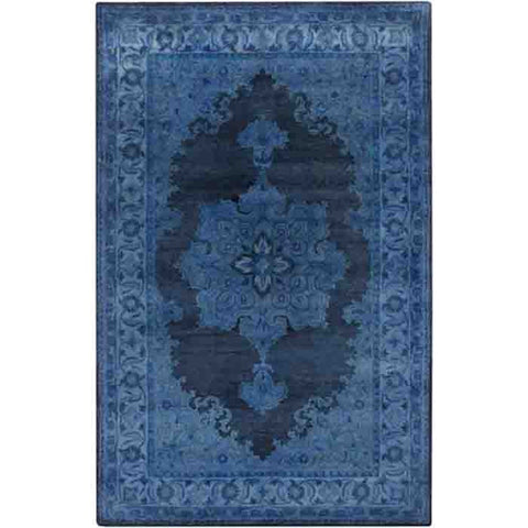 Mykonos Wool Rug ~ Blue - Cece & Me - Home and Gifts