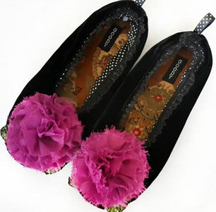 The Velvet Maggie Slippers ~ Toddler & Youth - Cece & Me - Home and Gifts